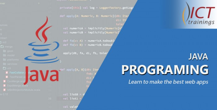 Java frontend and backend programming| ICT Trainings institute Lahore