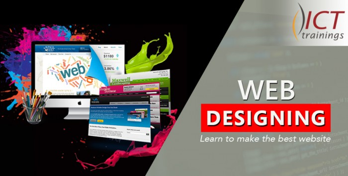 Web Designing Training Course by ICT institute Lahore Pakistan
